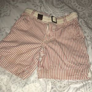 Boys striped shorts- never worn